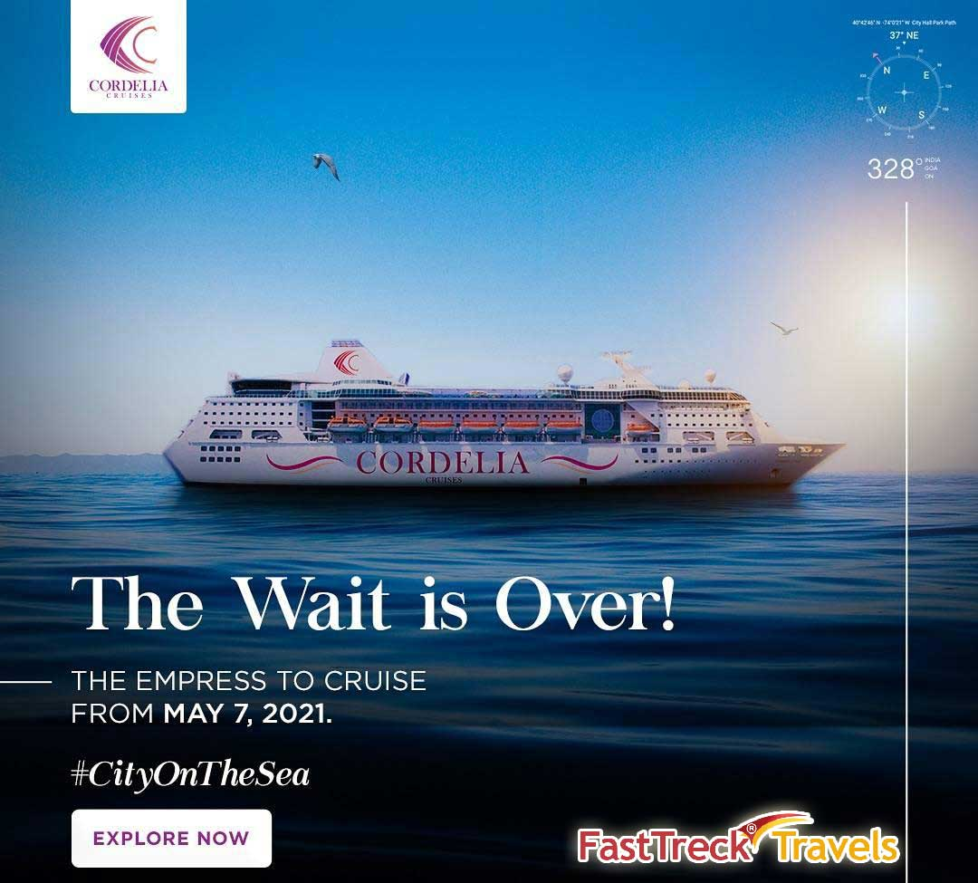 Enjoy India's premium cruise liner, Cordelia Cruises from May 2021!