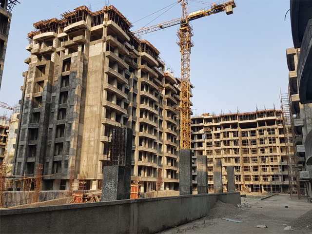 Share market update: Realty shares fall; DLF dips over 2%