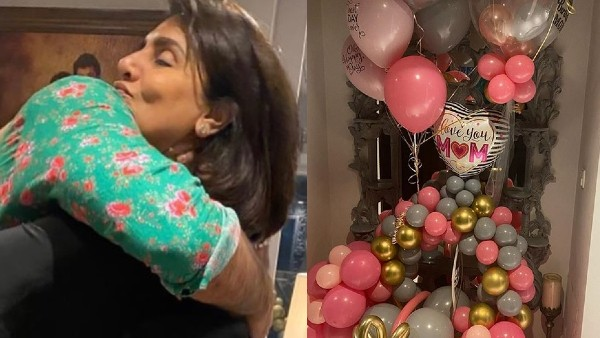 Ranbir Kapoor Gives A Hug To Mom Neetu At Her Birthday Dinner, Karan Johar Joins The Celebrations