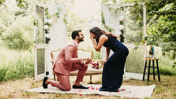 Four More Shots Please Actor Ankur Rathee Gets Engaged To Longtime Girlfriend Anuja Joshi