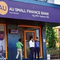AU Small Finance Bank share price hits upper circuit after Q1 profit rises to Rs 201 crore