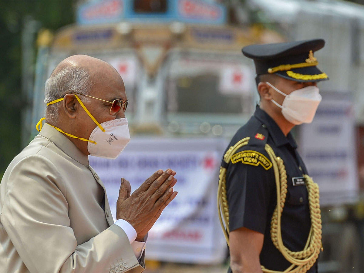 Country forever grateful to soldiers who laid down their lives in Kargil war:  President Kovind