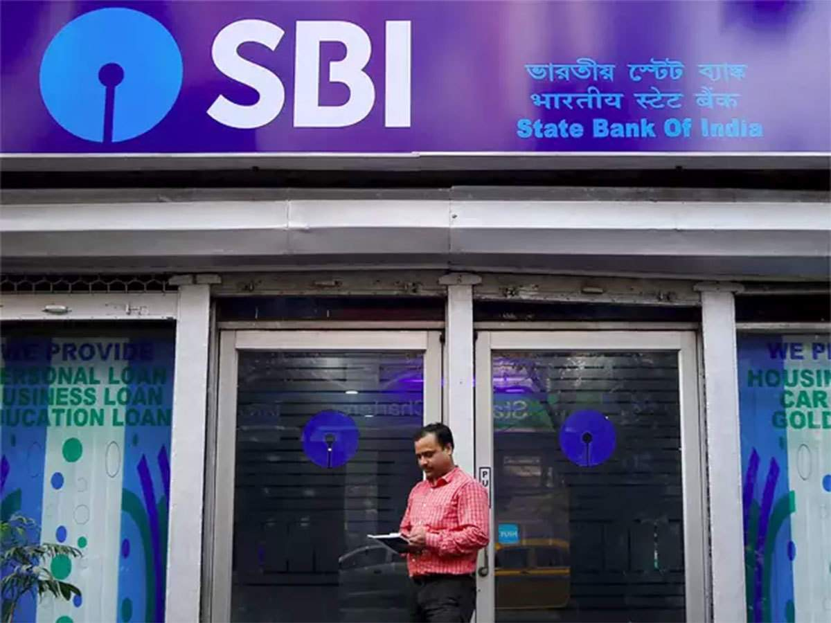Trending stocks: State Bank of India shares  down  2%