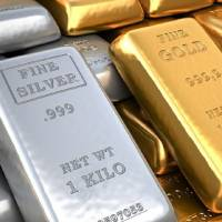 Silver outperforms gold; crude trades higher