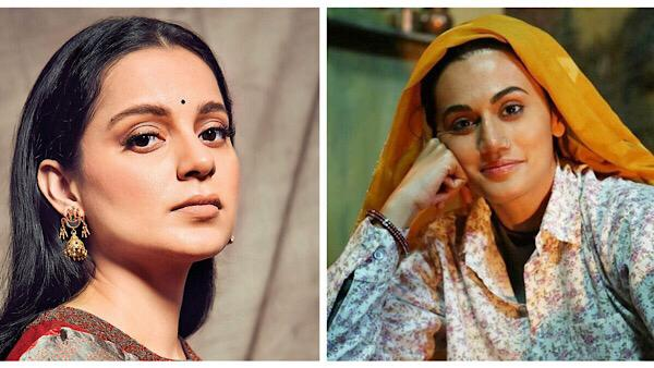 Taapsee Pannu Was To Work With Kangana Ranaut In Saand Ki Aankh; Reveals Why Kangana Rejected It