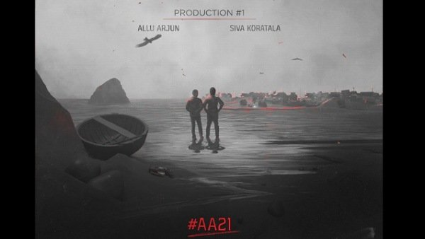 #AA21 Announced! Allu Arjun And Koratala Siva To Team Up For A Multilingual Film!