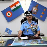 Air Marshal V R Chaudhari takes over as chief of IAF#39;s Western Air Command