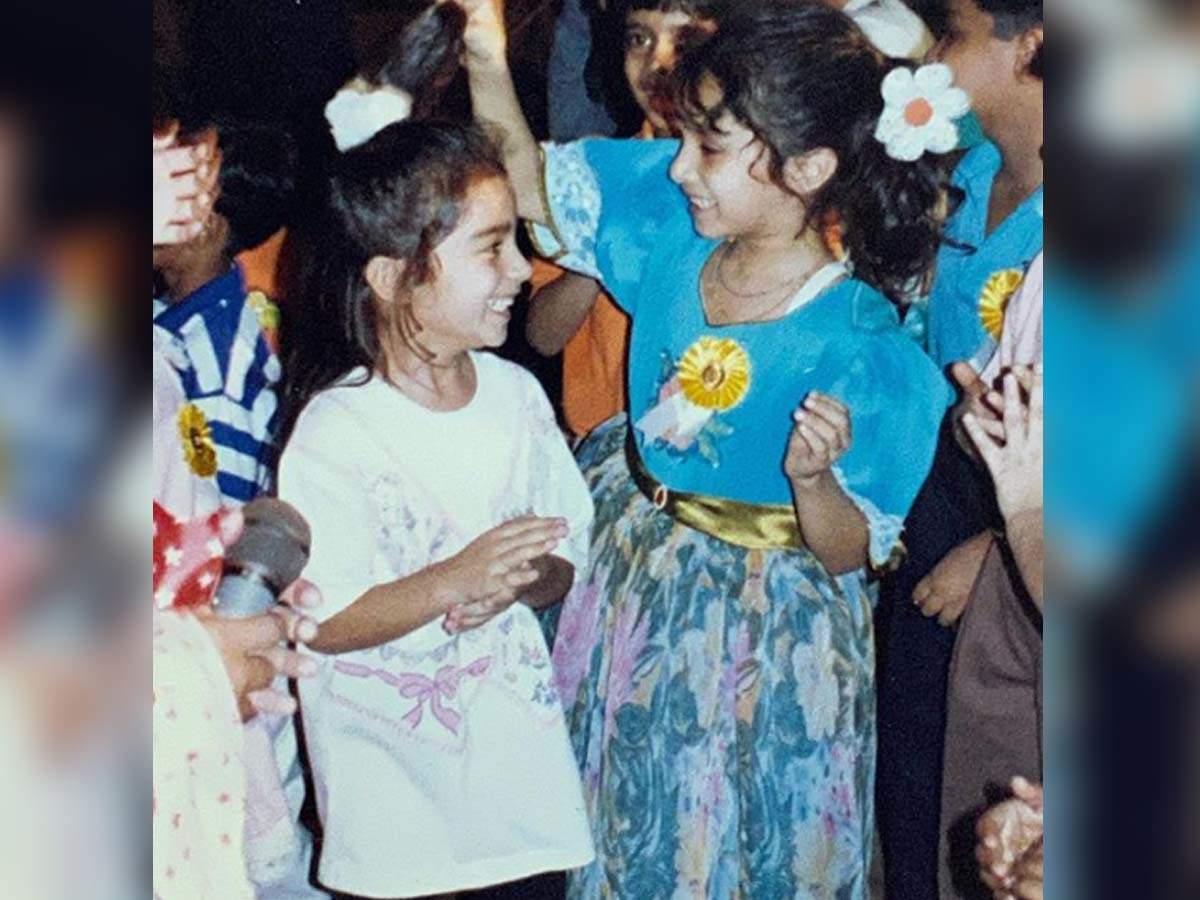 Shraddha posts a super adorable childhood pic