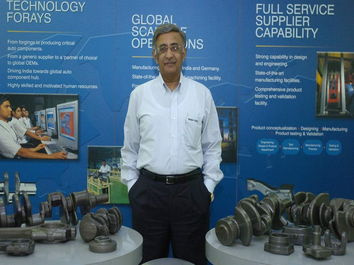 Covid disruption opportunity for Indian manufacturers to become global suppliers: Baba Kalyani