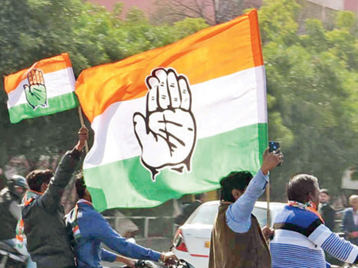 Delhi Congress leaders march to CM's residence, demand payment of pending salaries to govt staff