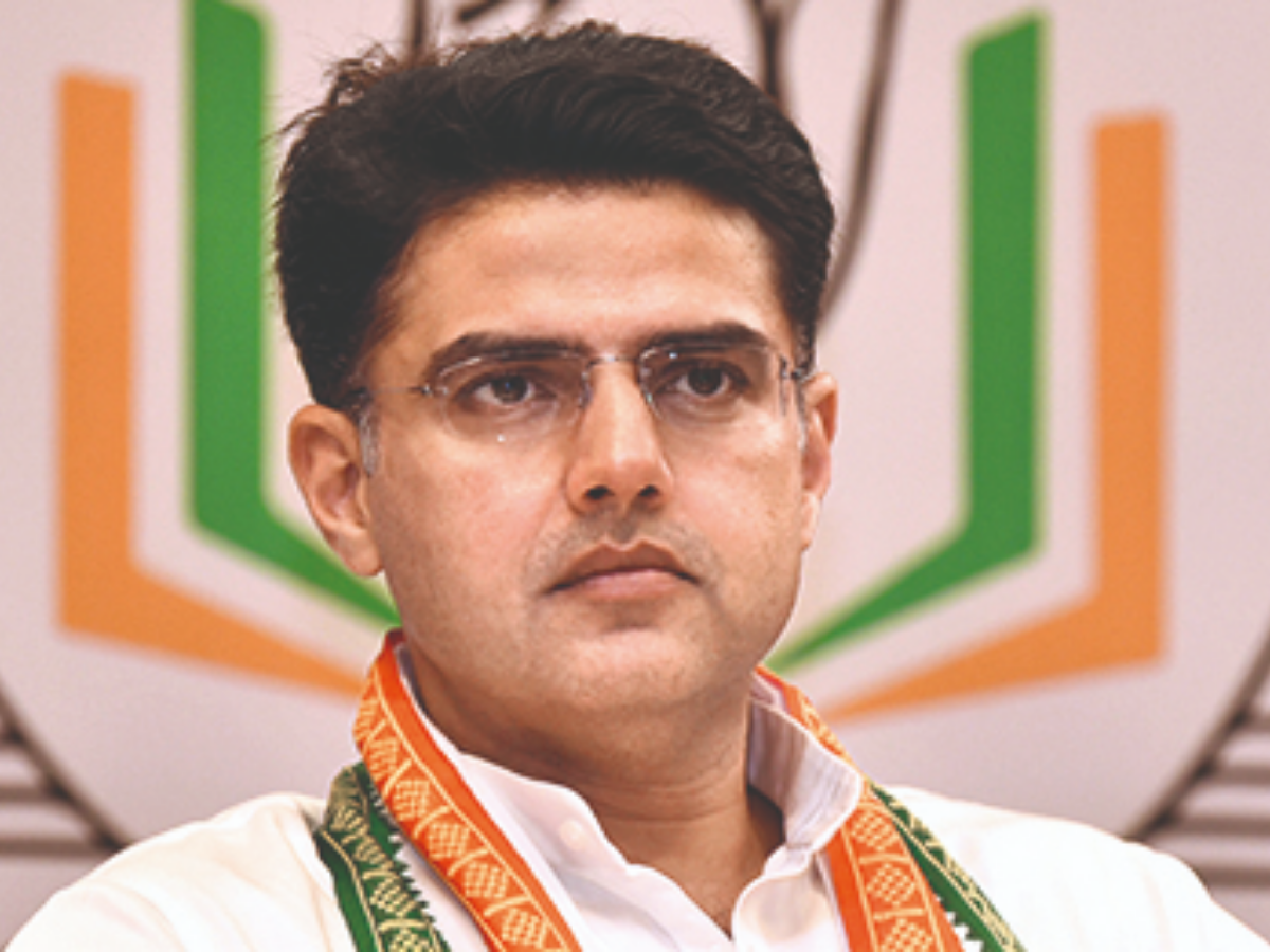 Sachin Pilot says the bravest soldier gets the border posting after taking back seat in Assembly