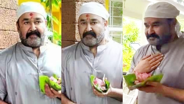 Mohanlal's Pictures From The Ayurvedic Hospital Goes Viral!