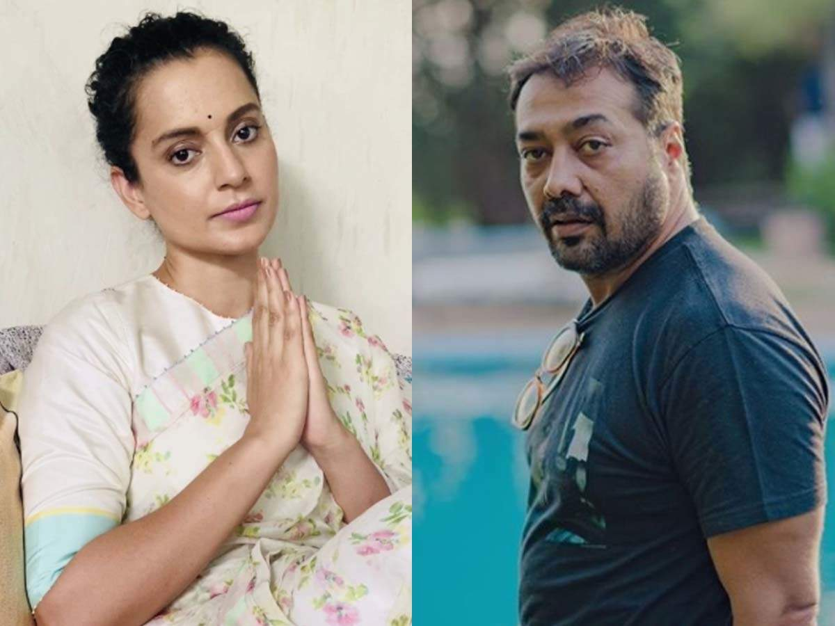 Kangana shares an old video of Anurag