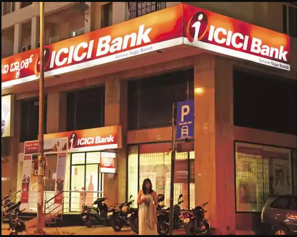 Stock market news: ICICI Bank shares fall nearly 1%