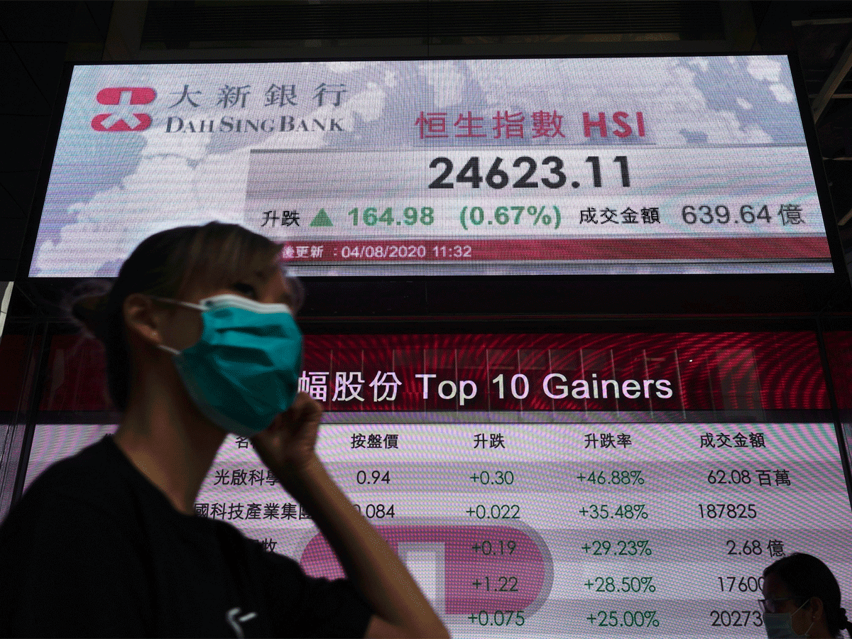 Asian stocks open lower as faith in global recovery slips
