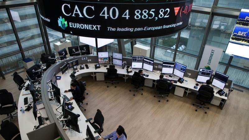 European shares rise on virus curb relaxation, vaccine cheer