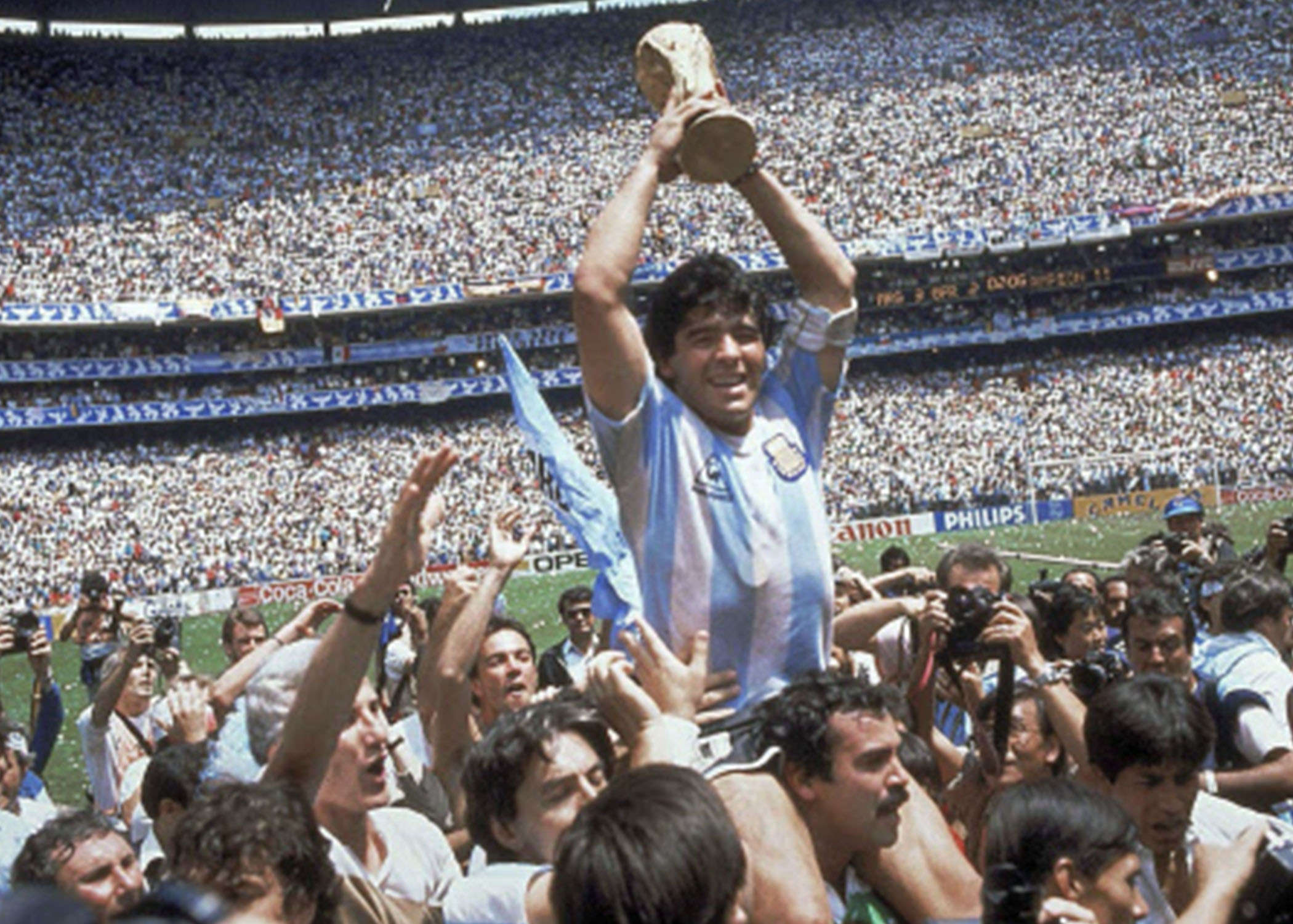 Diego Maradona, Argentine football's greatest icon, dies at 60