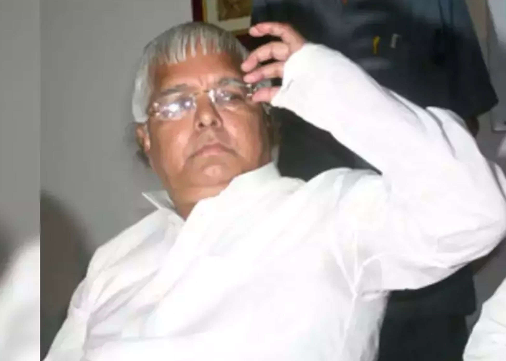 Bihar: FIR filed against Lalu Prasad over his alleged phone call to BJP MLA