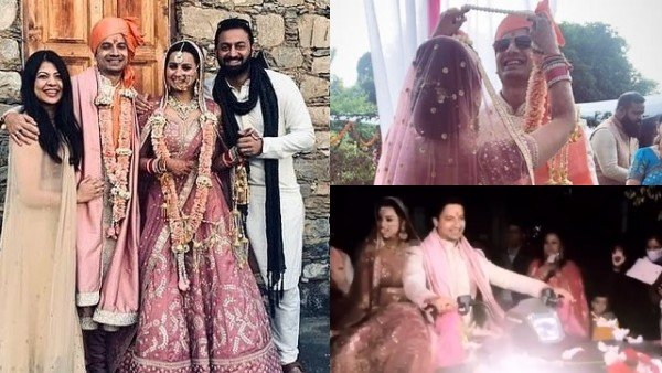 Priyanshu Painyuli-Vandana Joshi's Mountain Wedding Pictures Scream Love; Actor Takes His Bride Home On ATV