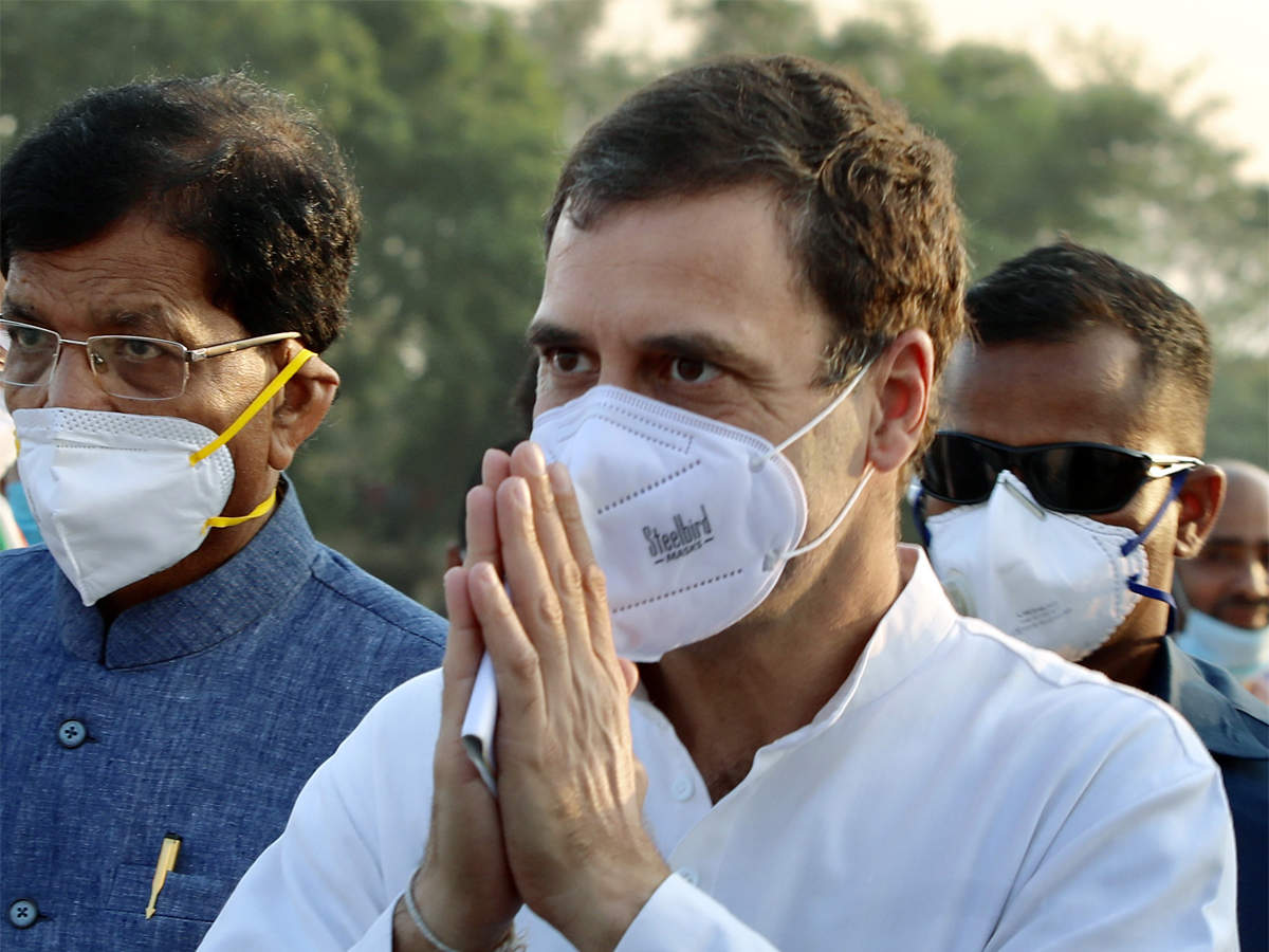 Rahul Gandhi condoles loss of lives in fire incident in Rajkot's Covid-19 hospital