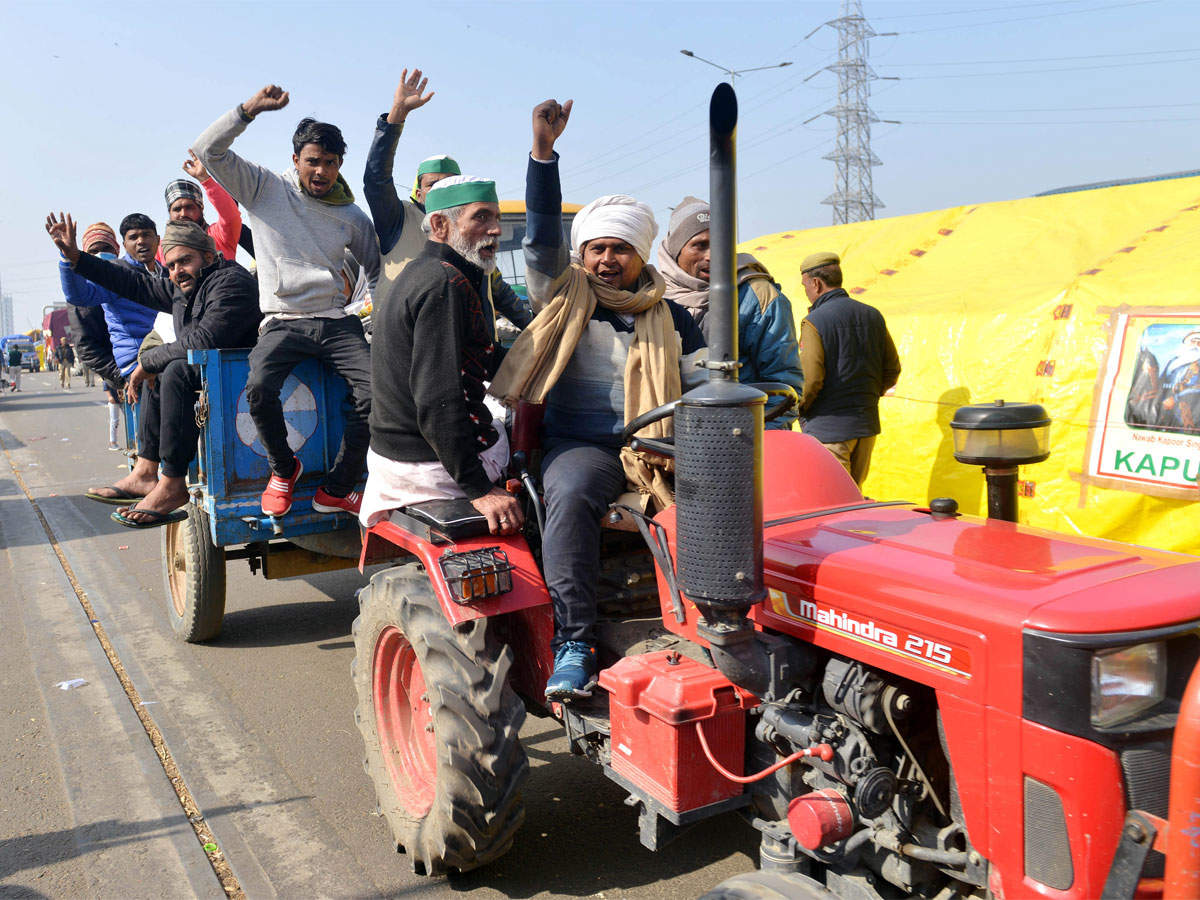 Farmers Protest Live: SC hearing today on agri bills, tractor rally