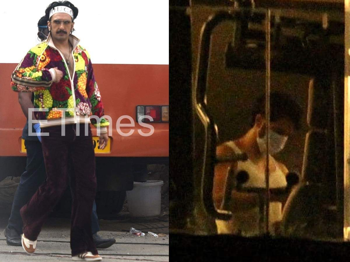 Pics: Ranveer on the sets to Varun at the gym