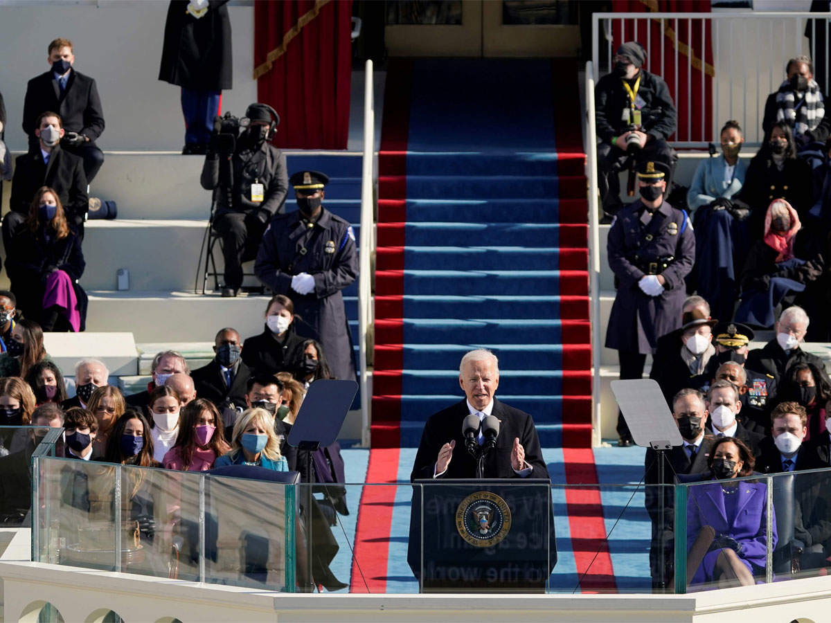 Biden's inaugural address written by Indian-American earns praise for its powerful message