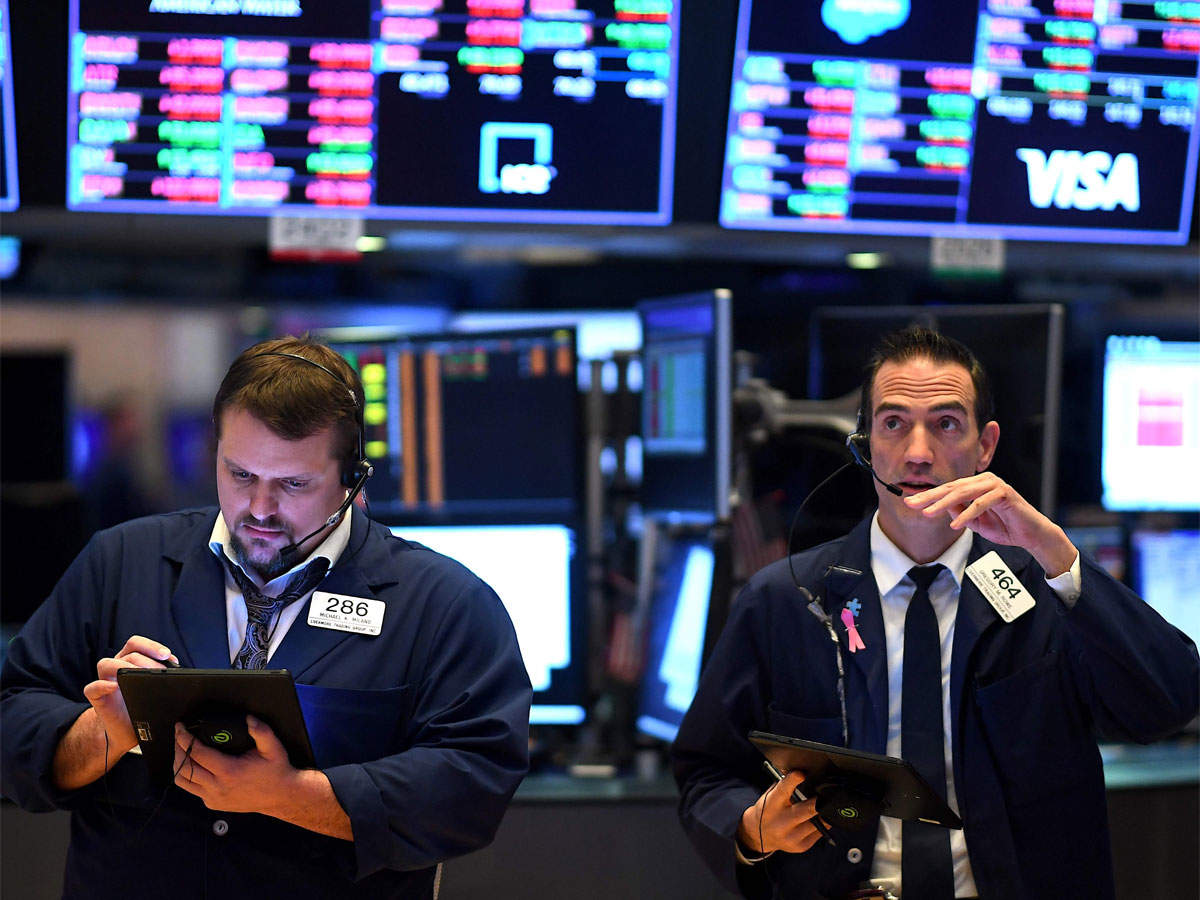 Dow, S&P close lower as IBM, Intel weigh, coronavirus concerns rise