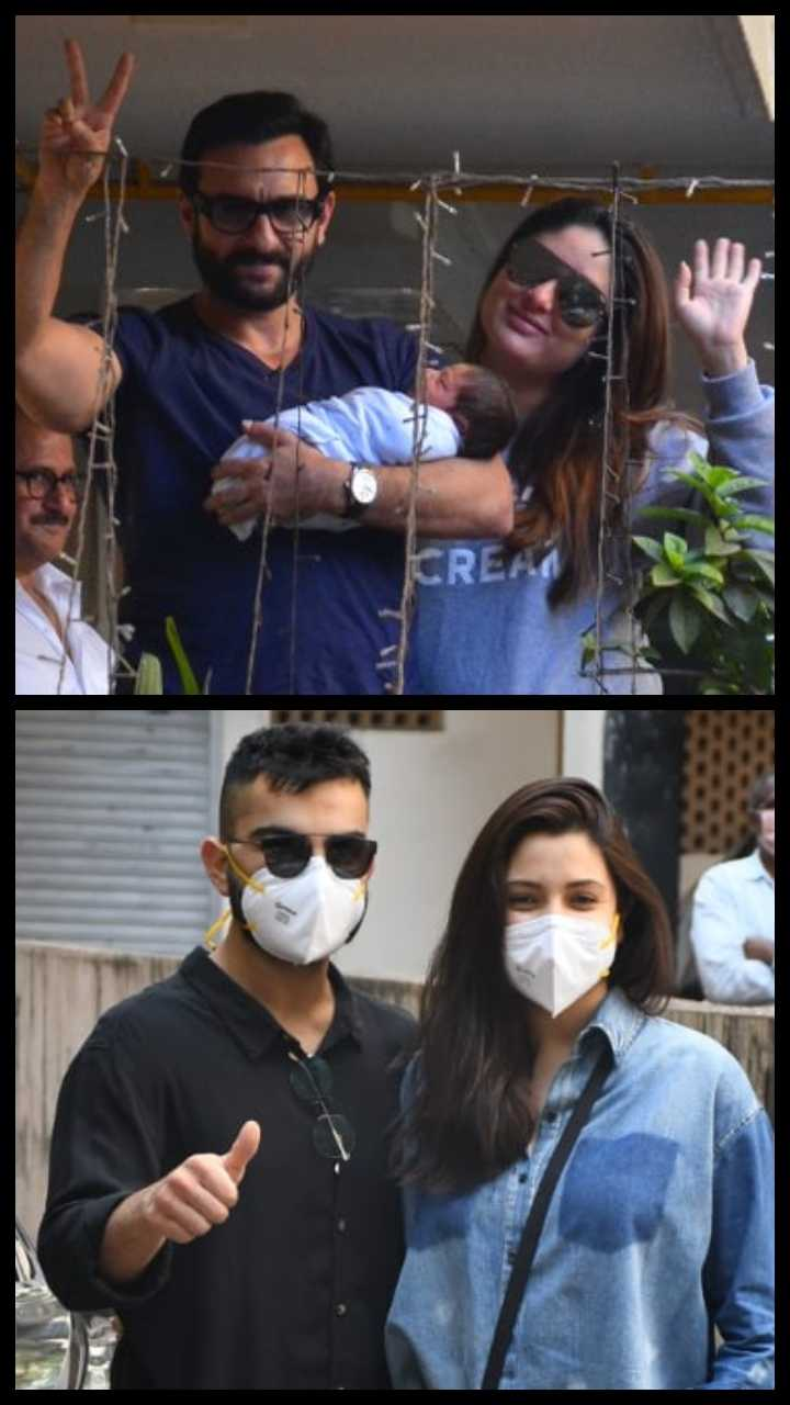 Bollywood Celebs' first post-delivery pics