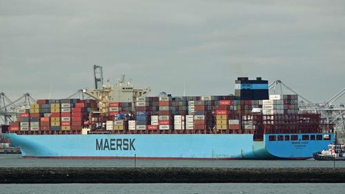 "Containership-Bound For California Loses 750 Containers Due To ""Rough Seas"""