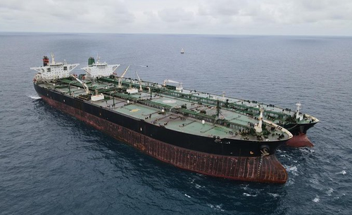 "Iran & China ""Caught Red-Handed"" In Illicit Oil Transfer Off Indonesia"