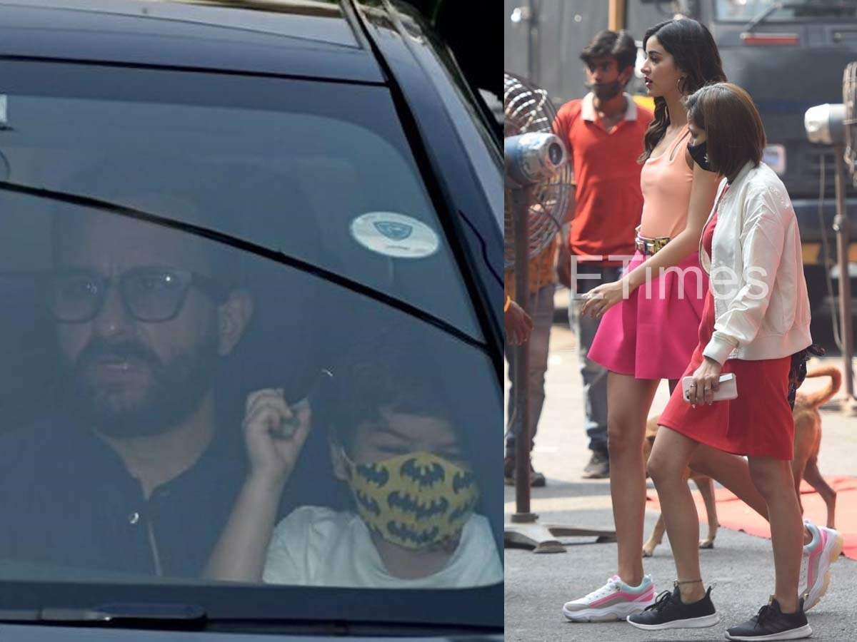 Bebo takes her baby home; Ananya on the sets