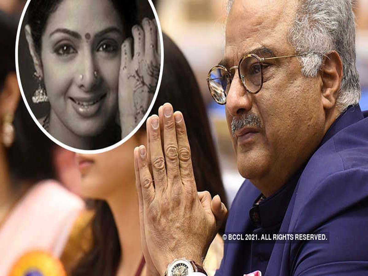 Boney Kapoor on Sridevi's mortal remains
