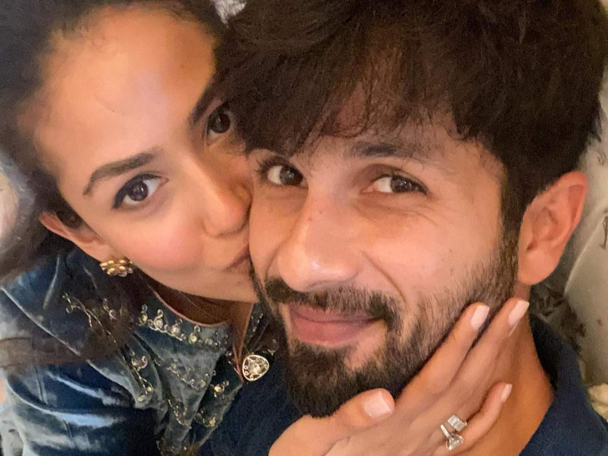 Mira shares a cute pic with Shahid for B'Day