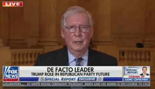 "McConnell Says He'd ""Absolutely"" Back Trump If He's 2024 GOP Nominee"
