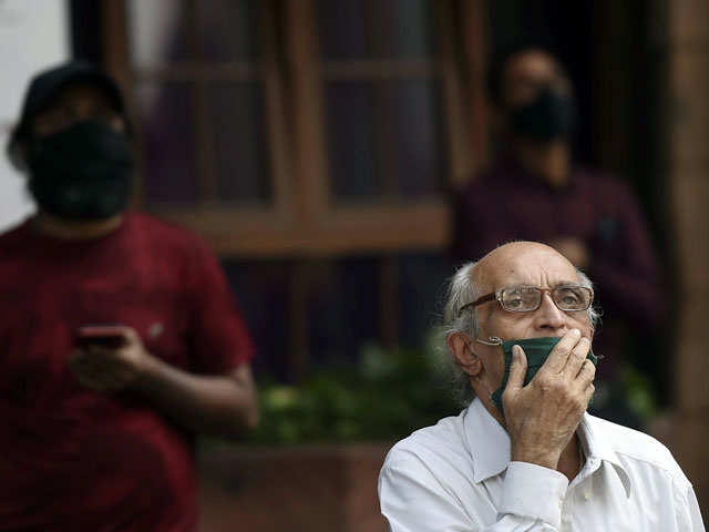 Sensex plunges 1,939 pts on global selloff, Nifty ends below 14,550; VIX spikes 23%