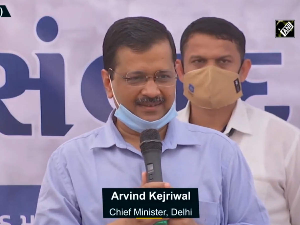 BJP, Congress scared after results of Gujarat civic polls: Arvind Kejriwal