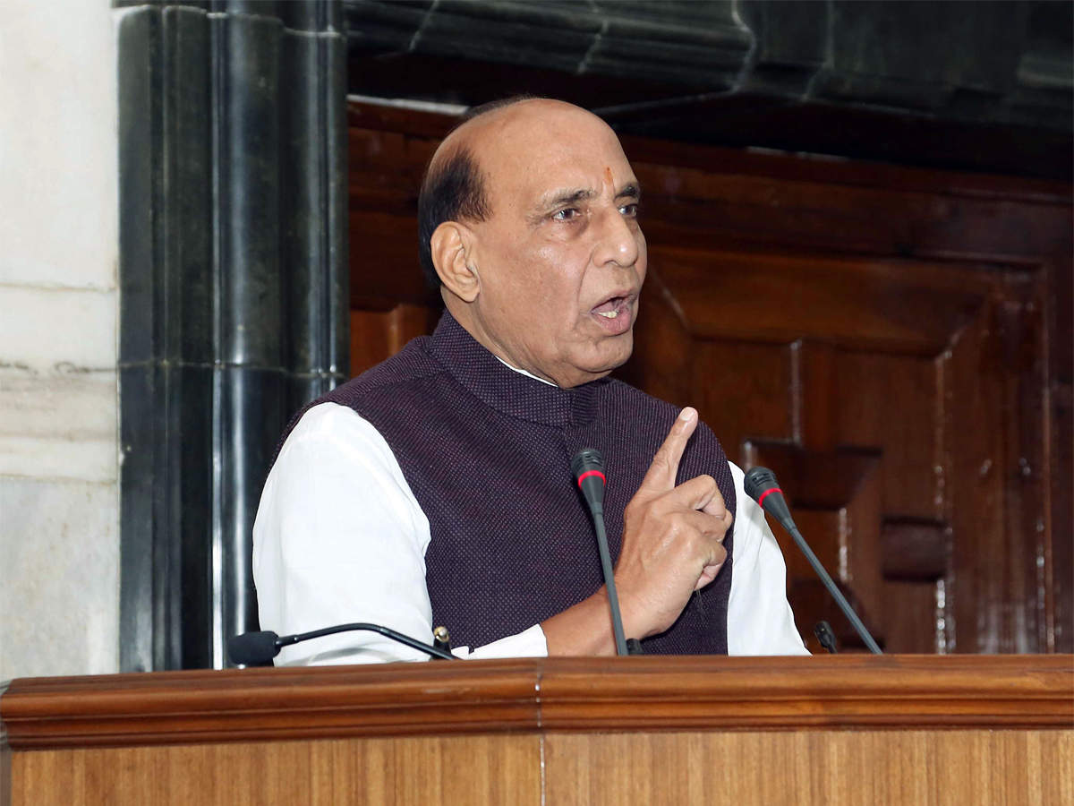 "Political violence has reached ""new high"" under TMC govt: Rajnath Singh"