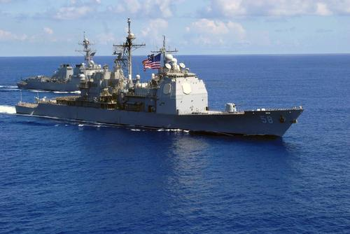 COVID Outbreak Hits Two Navy Warships Deployed In Middle East