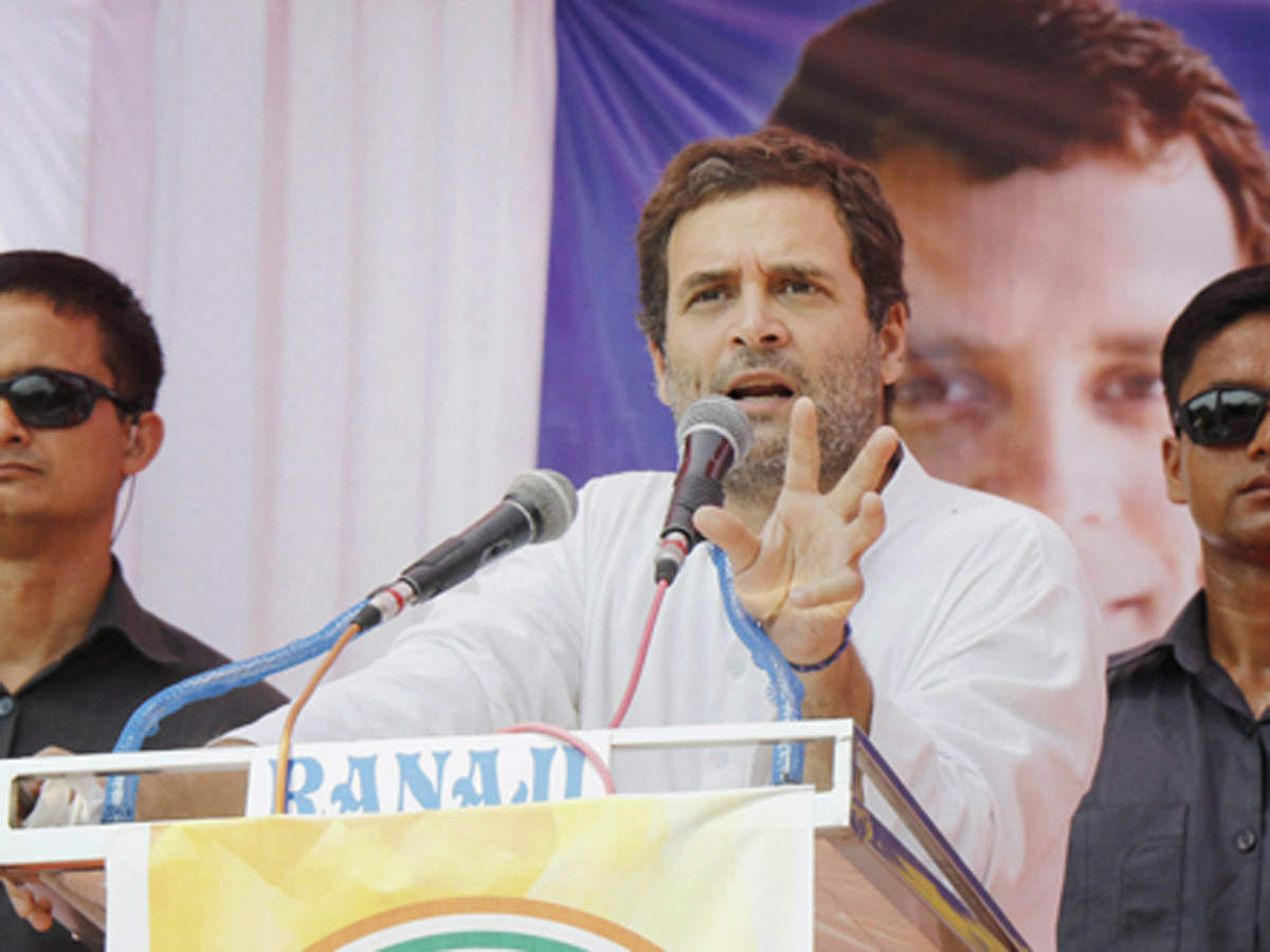 Tamil Nadu should show the way to India in keeping out BJP, oust CM: Rahul Gandhi