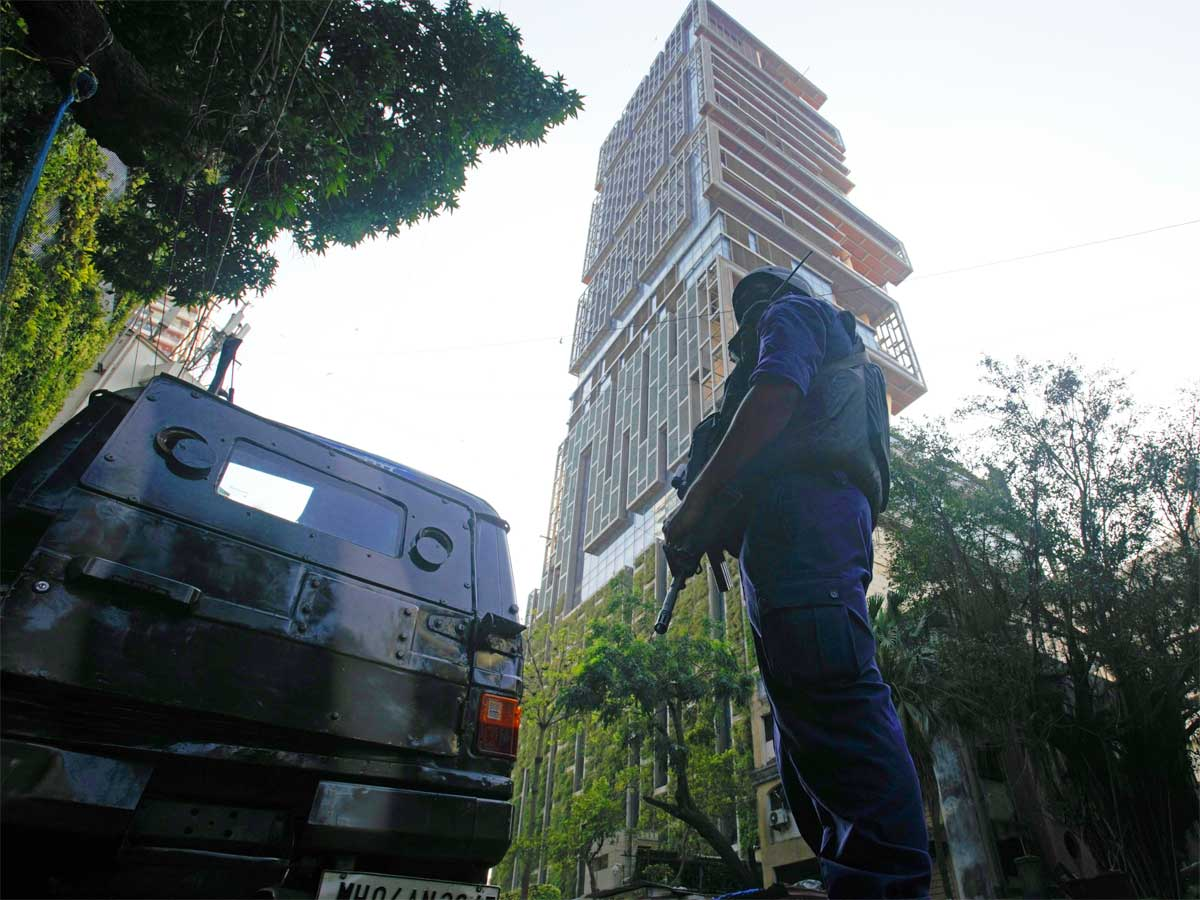 Explosives scare near Mukesh Ambani's house: ACP to head probe team