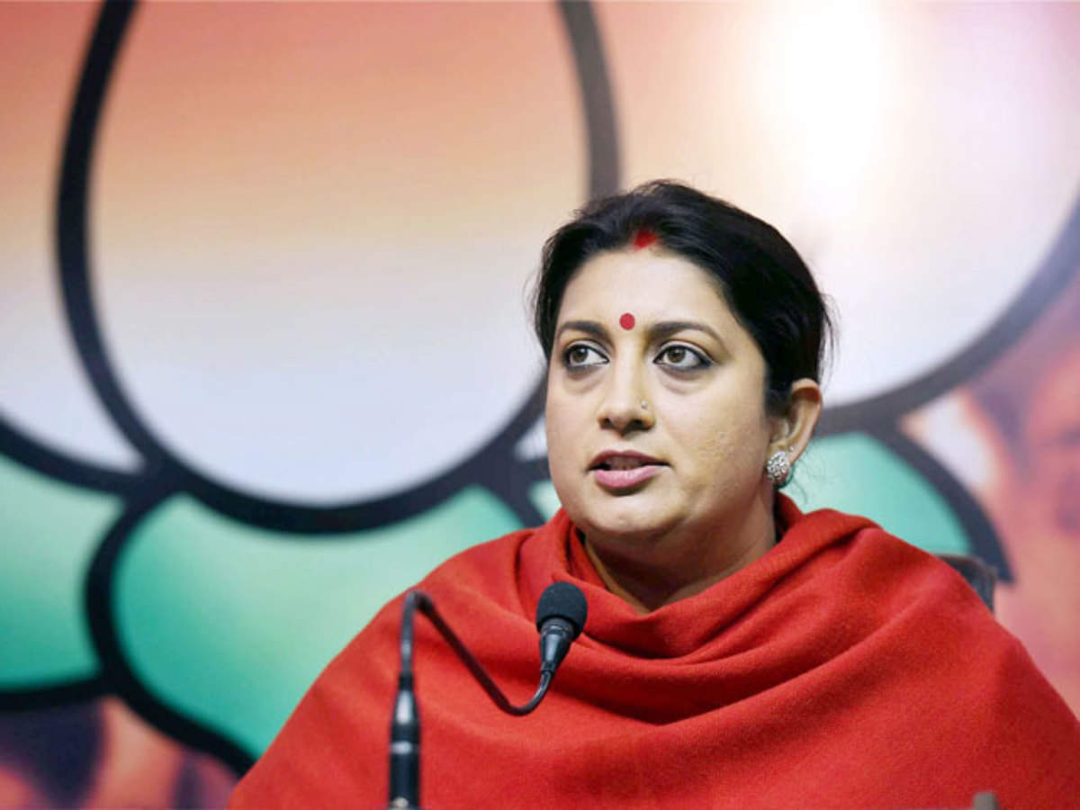 Smriti Irani attacks Rahul Gandhi, accuses him of 'insulting' people of Amethi
