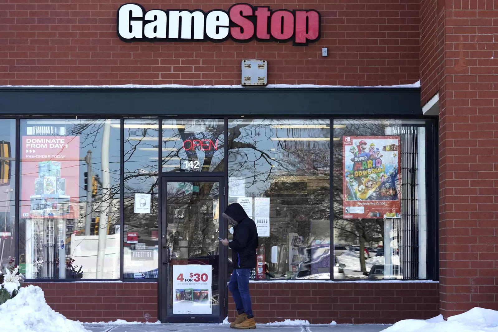 GameStop shares surge over 40% after Cohen tapped to lead e-commerce pivot