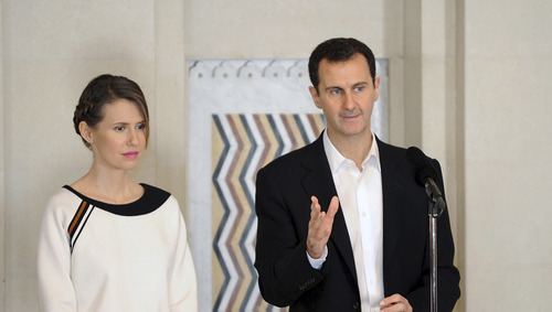 Assad & Syrian First Lady Test Positive For Coronavirus