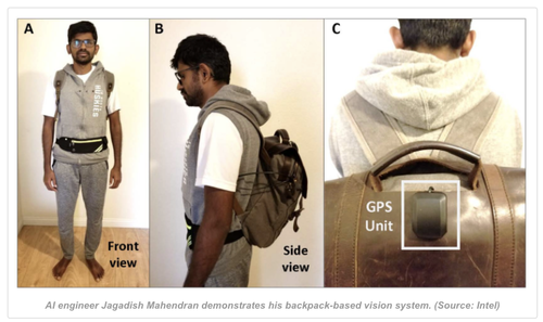 AI-Powered Backpack For Blind People To Replace Guide Dogs