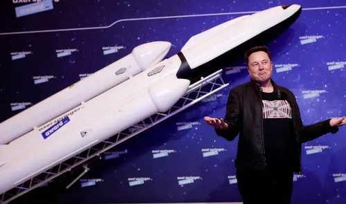 "SpaceX Wins $2.9 Billion Contract To Return To Moon On Same Day Musk's Favorite Crypto Also ""Moons"""