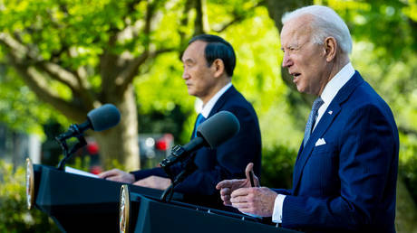 China denounces US-Japan statement in which Washington vows to defend its Asian partner with NUCLEAR 'capabilities'
