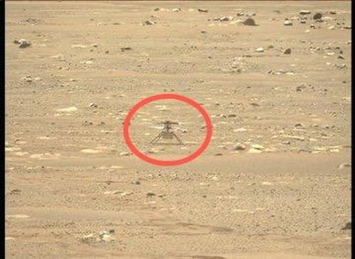 """We Made History Today"" - NASA's Ingenuity Helicopter Makes First Flight On Mars"