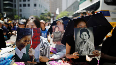 Seoul court refuses to force Japan to compensate WWII-era 'comfort women' sexual slavery victims, contradicting previous ruling