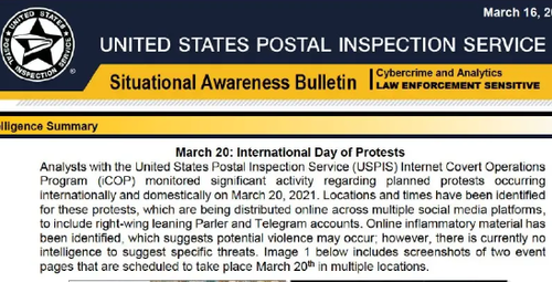 US Postal Service Running 'Covert Operations Program' To Spy On Americans' Social Media Posts, Share With Agencies